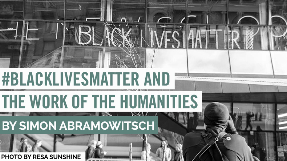 #BlackLivesMatter and the Work of the Humanities
