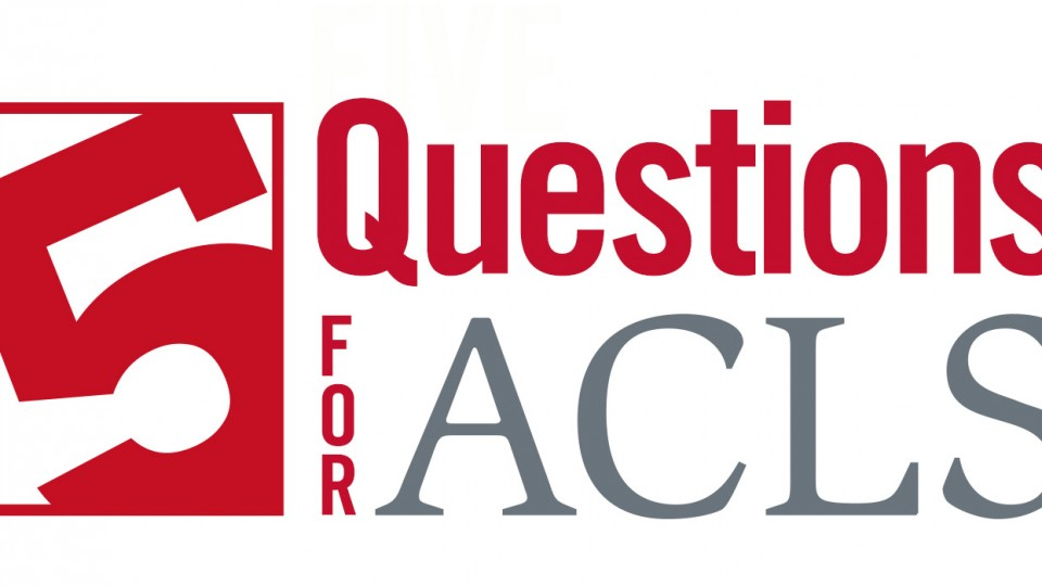 Five Questions for ACLS Podcast
