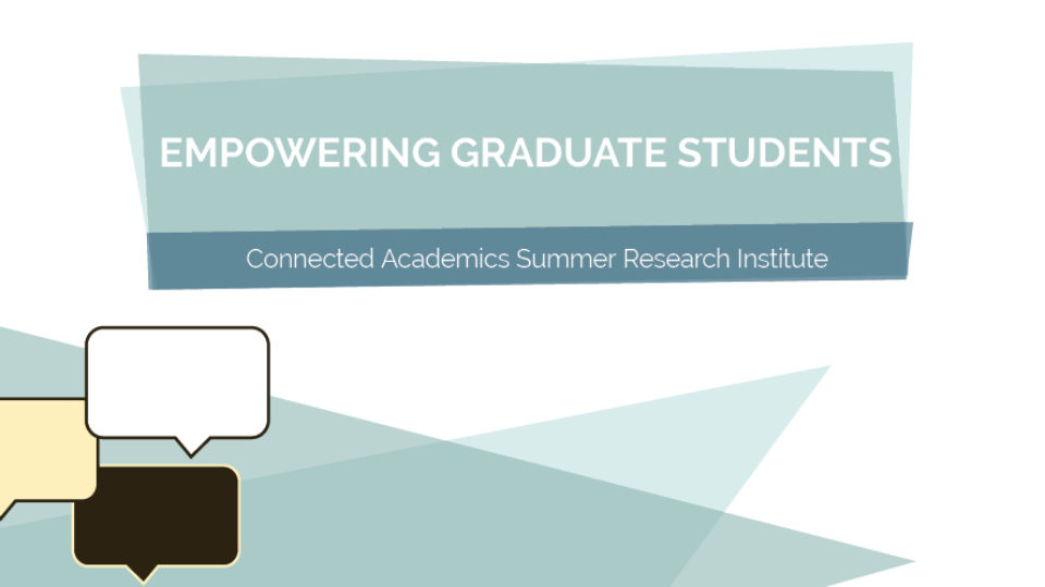 Empowering Graduate Students